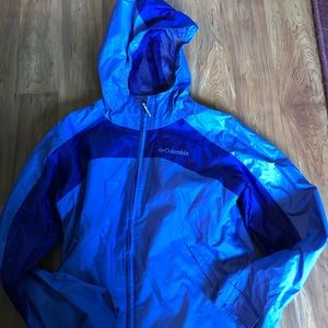 Purple Columbia Windbreaker